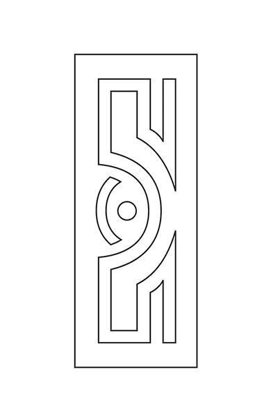 دانلود طرح درب چوبی (برش CNC)