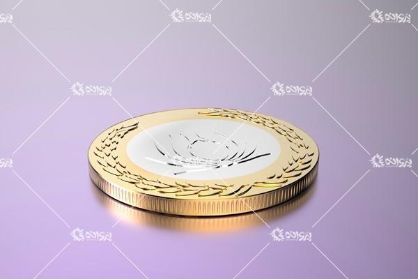 مدل سه بعدی سکه