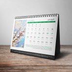 تقویم رومیزی لایه باز
