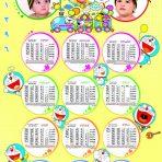 دانلود تقویم لایه باز کودک 96 طرح شماره 3