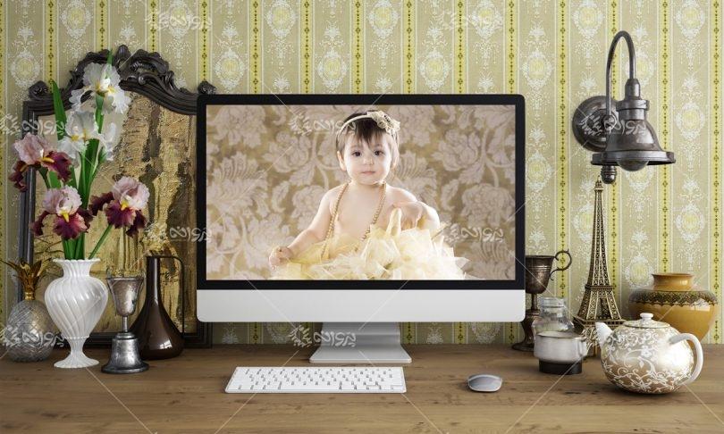 موکاپ کامپیوتر رومیزی