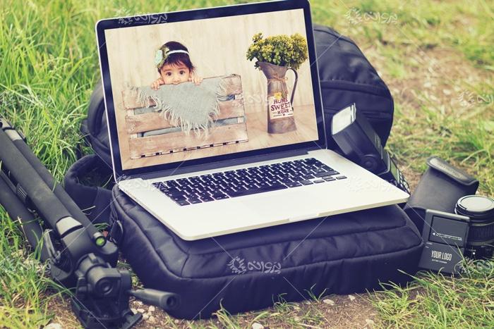 موکاپ صفحه نمایش لپ تاپ