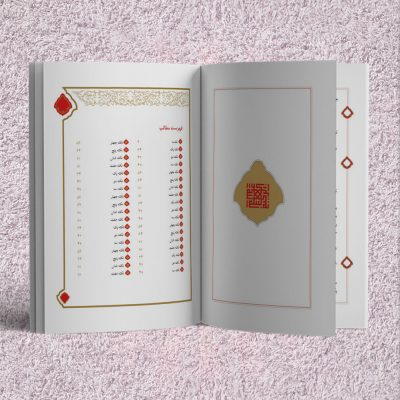 قالب لایه باز صفحهآرایی کتاب (زرکوب)