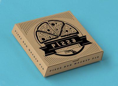 طرح لایه باز جعبه پیتزا 605